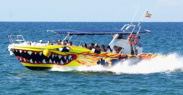 Barco Taxi a la Isla de Tabarca desde Santa Pola