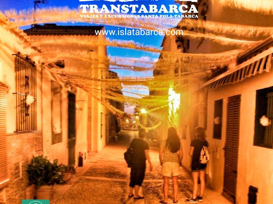 Pasar la Noche en la Isla de Tabarca
