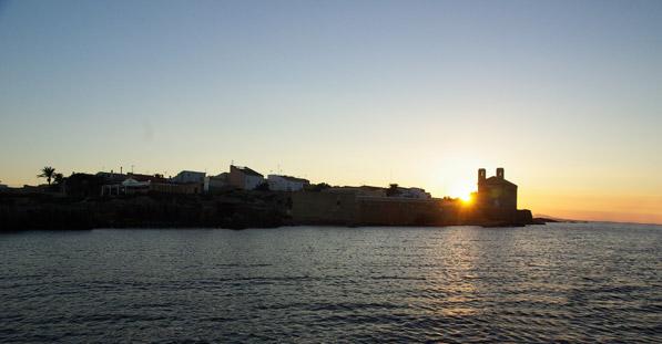 Atardecer Isla de Tabarca