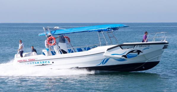 Nueva Lancha Rápida para realizar visitas a la Isla de Tabarca desde Santa Pola