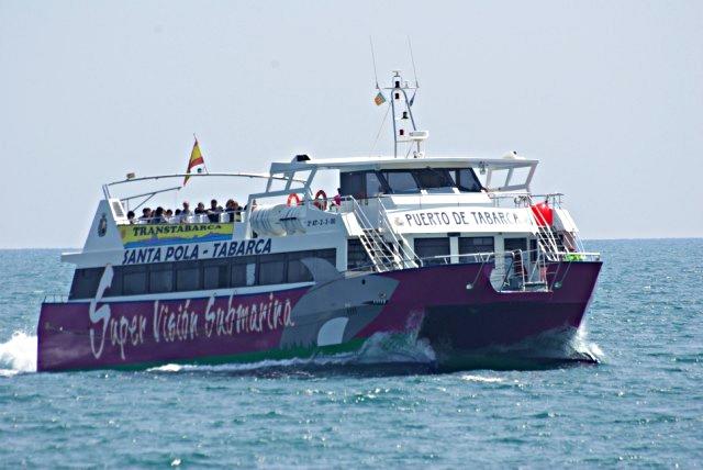 Catamarán Transtabarca