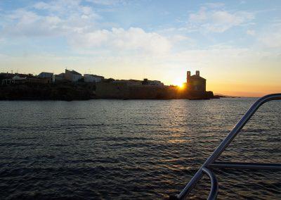 Atardecer Transtabarca Viajes y Excursiones a la Isla de Tabarca desde Santa Pola